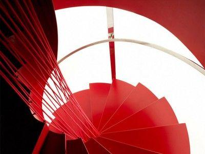Red# bool vessel stair