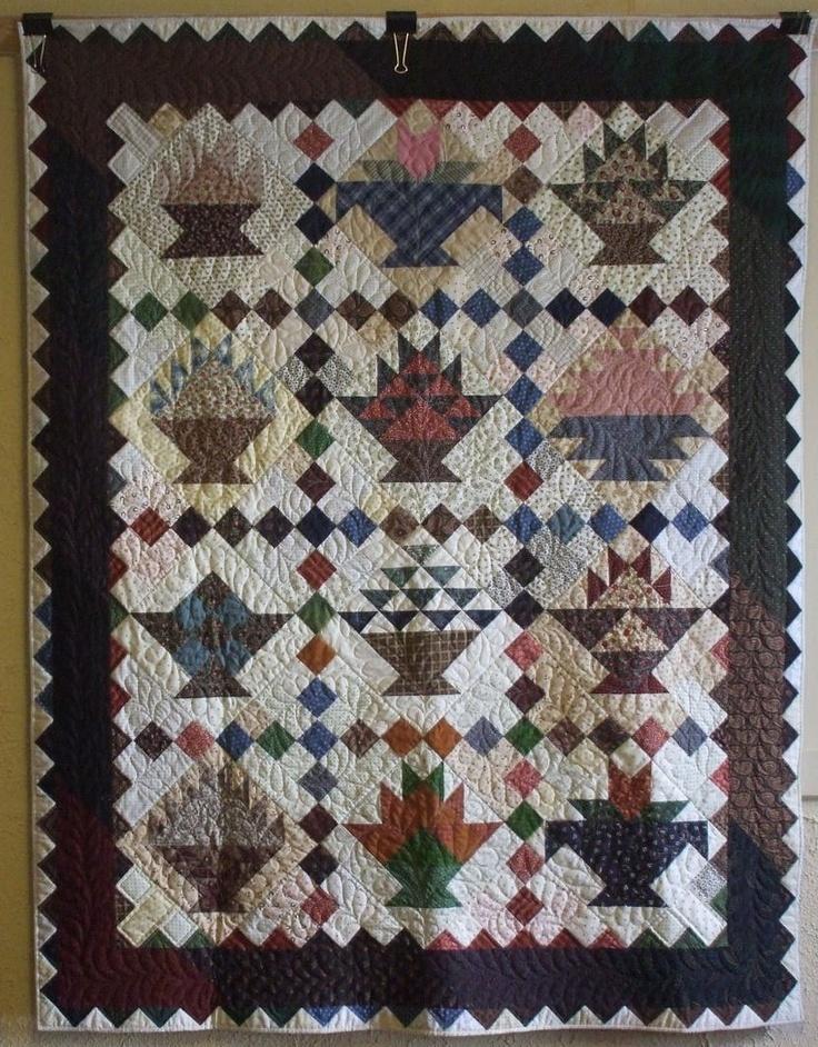 391 best Basket Quilts images on Pinterest | Patterns, Appliques ... : quilting basket - Adamdwight.com