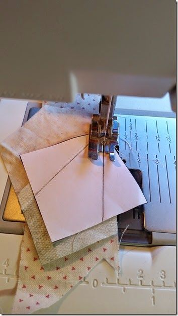Tips for successful paper piecing. #quilting #tip