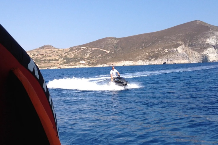 Cruising with the FX HP 1800 Cruiser three seater Yamaha wave-runner