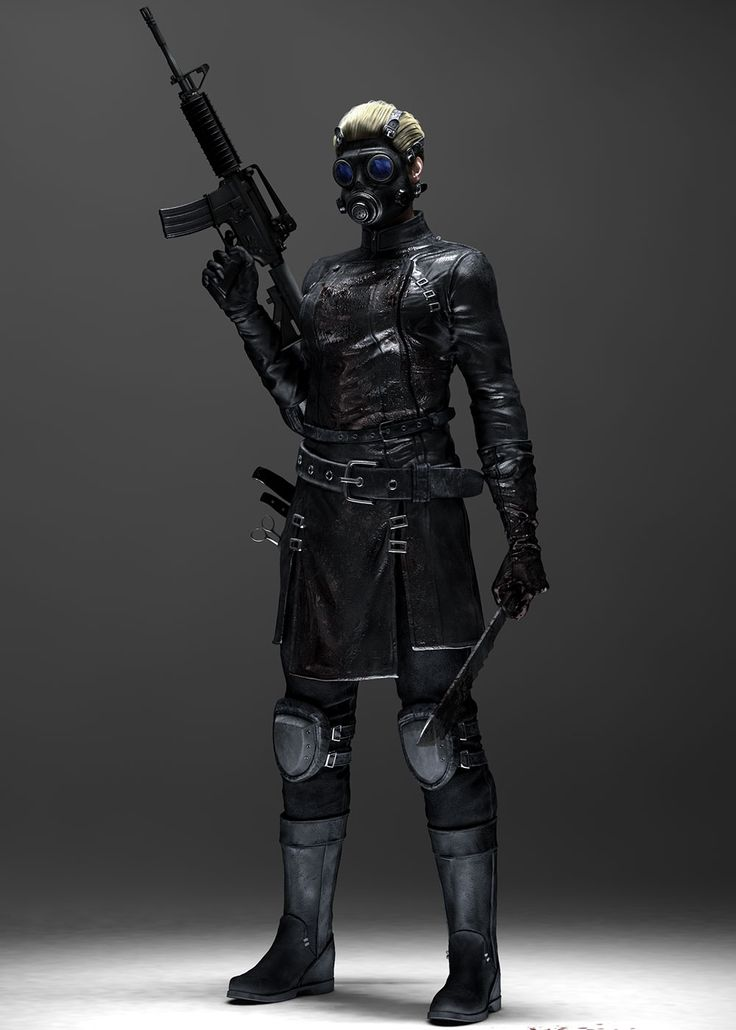 Resident Evil: Operation Raccoon City Art & Pictures Bertha