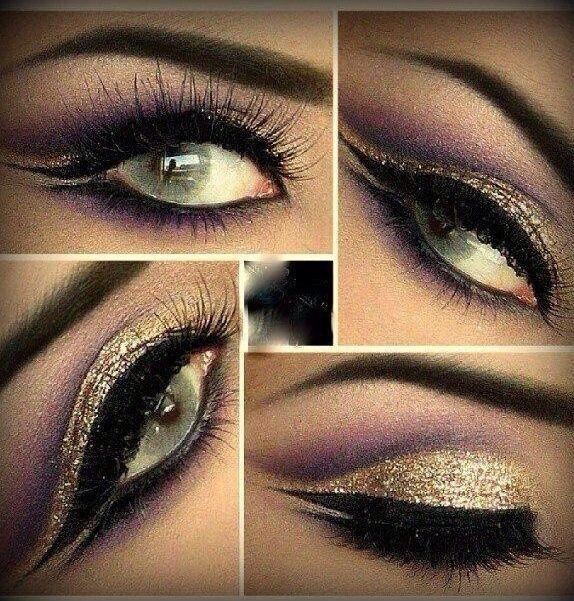Roman goddess eye makeup