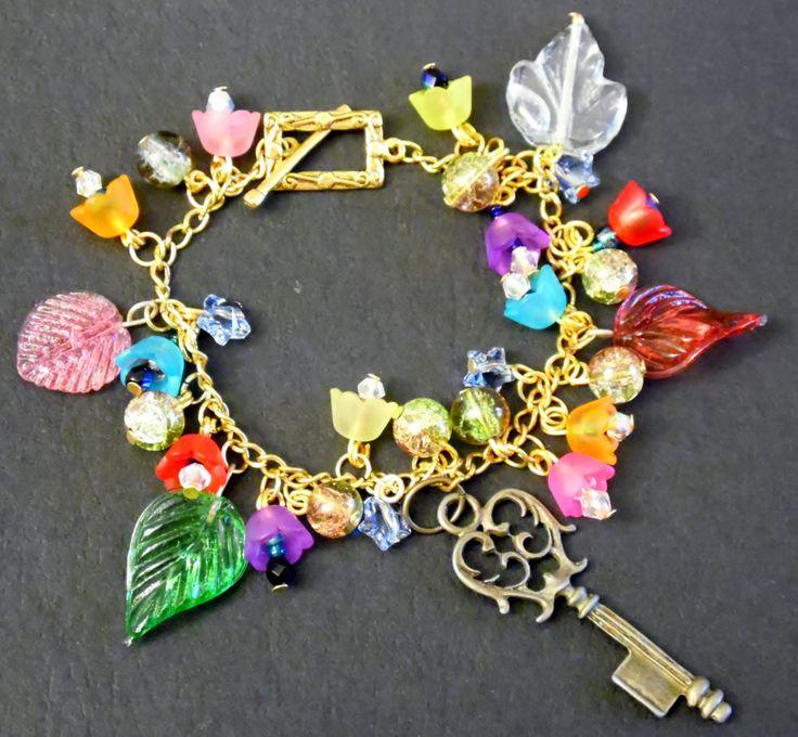 Garden Key Bracelet by VenusDelights on Etsy