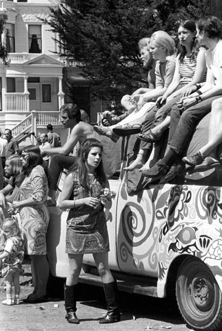 San Francisco hippies (1967) ~ Free Generation                                                                                                                                                                                 More