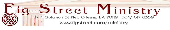 Fig Street Ministry does weddings in New orleans metro area.
