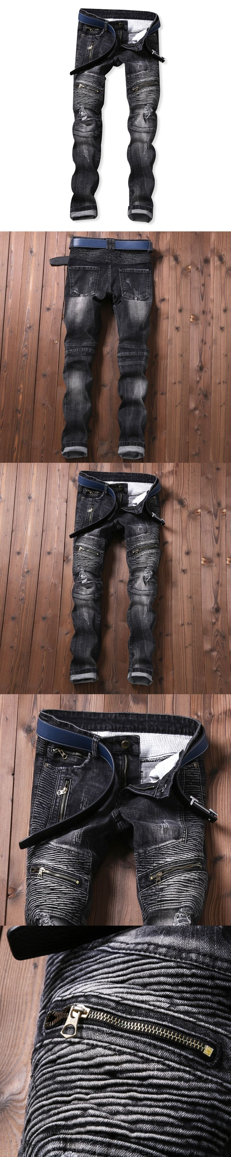 SWAT Military Style Cargo Jeans Men Casual Motorcycle Denim Biker Jeans Stretch Multi Pockets Tactical Combat Army Jean