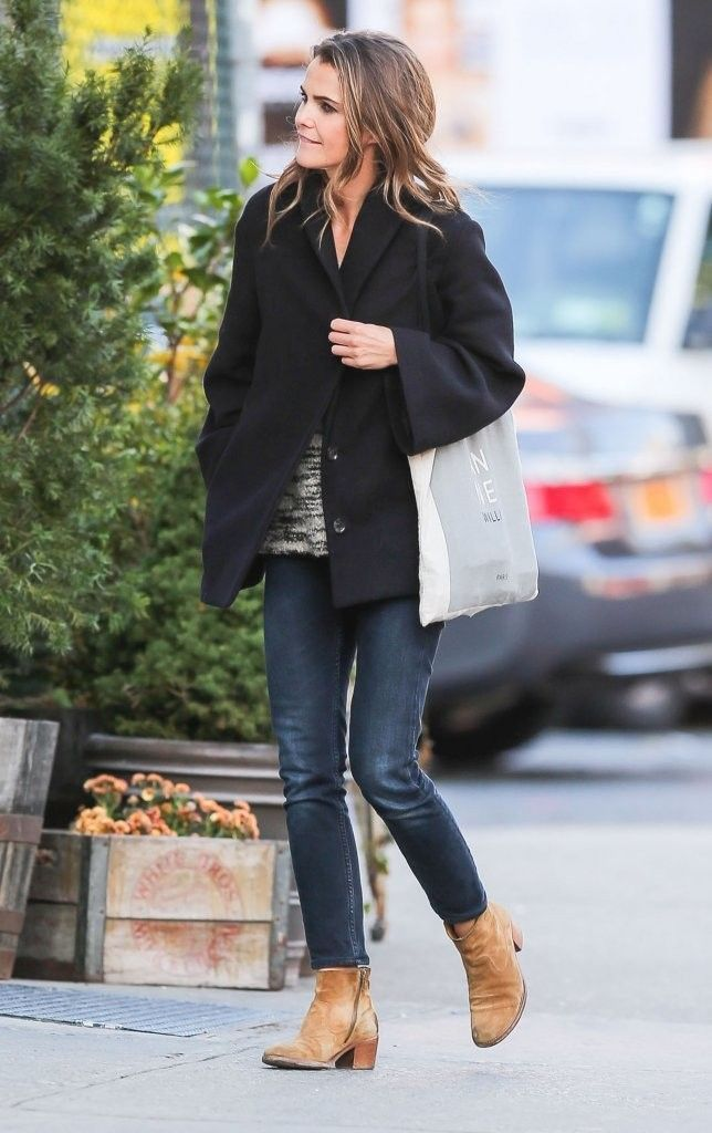 Keri Russell Photos: Keri Russell Out And About In NYC