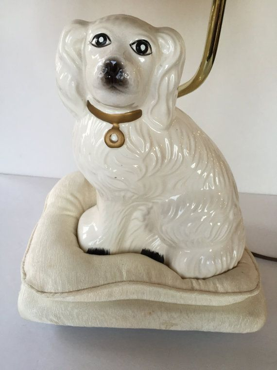 Vintage English Staffordshire Spaniel Style By BourbonBallVintage