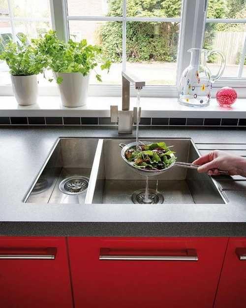 Modern Kitchen Red: 1000+ Ideas About Modern Kitchen Sinks On Pinterest