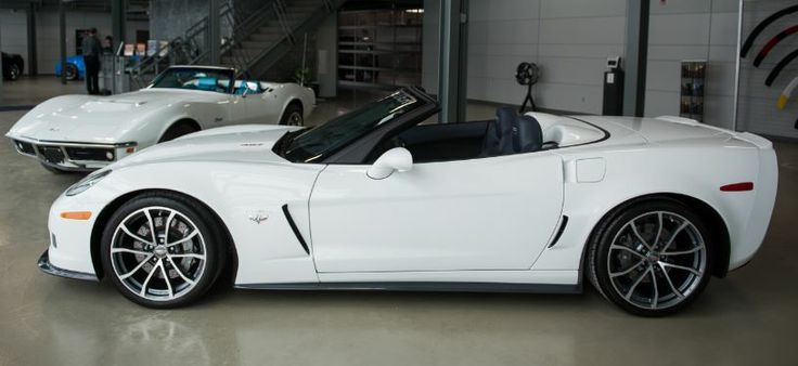 Here's a side view of the 2013 60th Anniversary Corvette Convertible from WintheVettes.com.