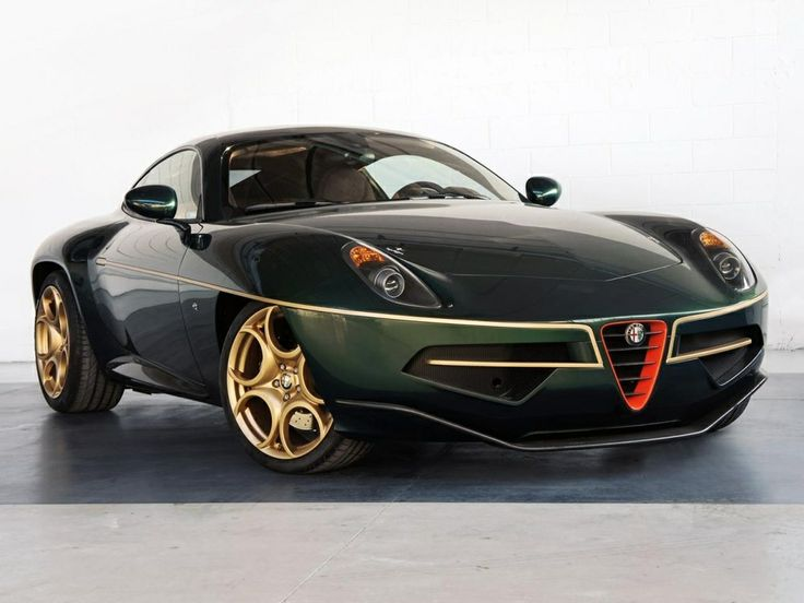 High Quality Touringu0027s Breathtaking Alfa Disco Volante Wears Green And Gold For Geneva U2013  Plus Top Gear Video   Carscoops