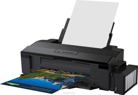Epson L1800 фотопринтер формата А3  — 42490 руб. —  Фотопринтер А3+ формата с рекордно низкой себестоимостью печати. Фабрика печати Epson L1800 - Это уникальный фотопринтер формата А3+ со встроенными большими емкостями для чернил, специально созданный для тех, кому необходима экономичная печать фотографий до формата А3+. Струйный фотопринтер Epson L1800 позволяет печатать цветные фотографии высокого качества с рекордно низкой себестоимостью - всего 1,5 рубля за снимок формата 10х15 (без…