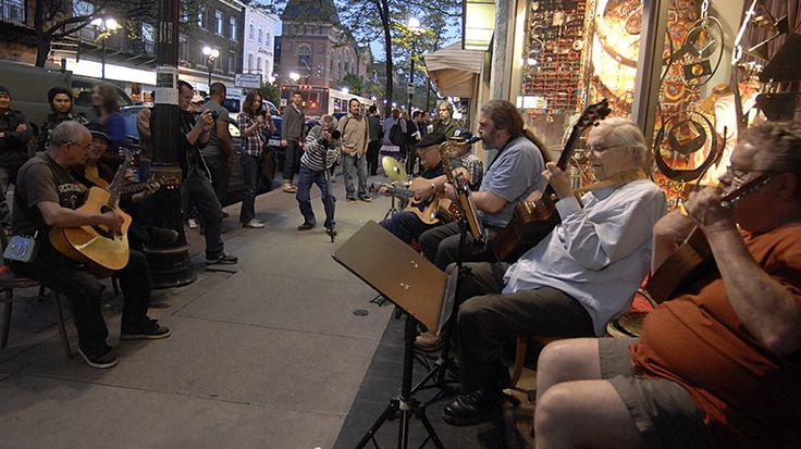 James Street North was alive with the sights and sounds of Hamilton at the monthly Art Crawl.