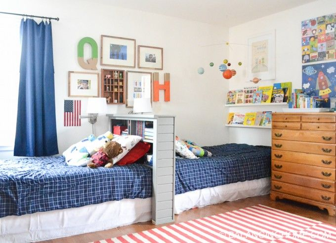 shared boys bedroom - Ikea Shared Kids Room