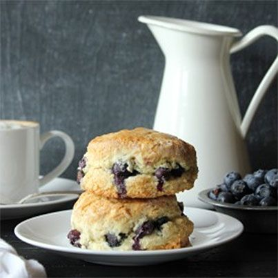 Almond Blueberry Scones | Breakfast Delights | Pinterest