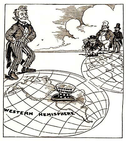 a history of the monroe doctrine essay The purpose of the monroe doctrine was to stop european  without the policies that have framed it since monroe's death learn more about us history.