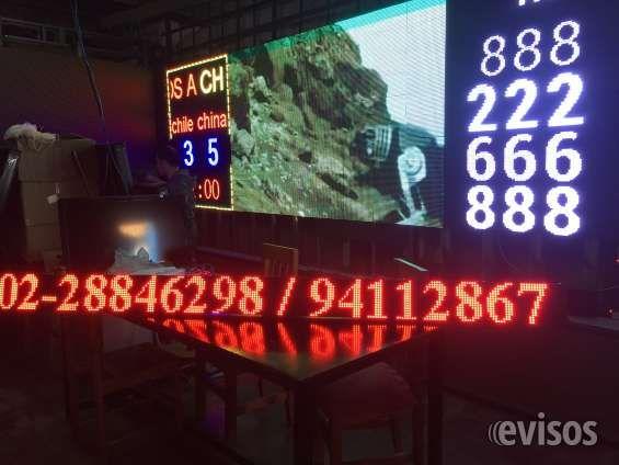 LETRERO LED ELECTRÓNICO PROGRAMABLE  Letreros y pantallas led programables ideale ..  http://quinta-normal.evisos.cl/letrero-led-electronico-programable-1-id-602391