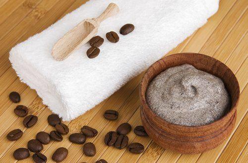 Exfoliante de café y menta