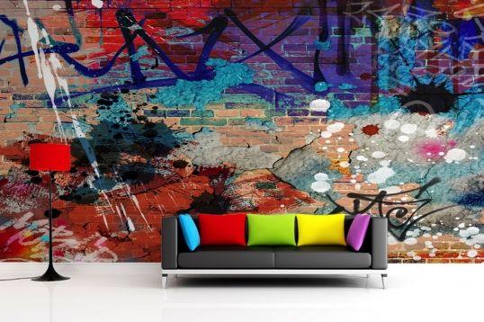 http://www.muralswallpaper.co.uk/grunge-graffiti-mural-wallpaper