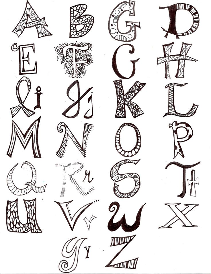 letter art font large mismatched letters lettering fonts and 6670