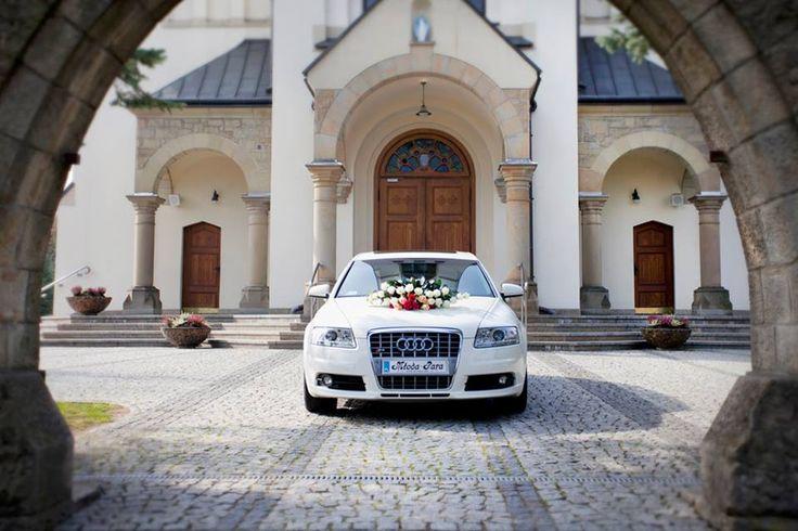Dekoracja na samochód Romantic Square