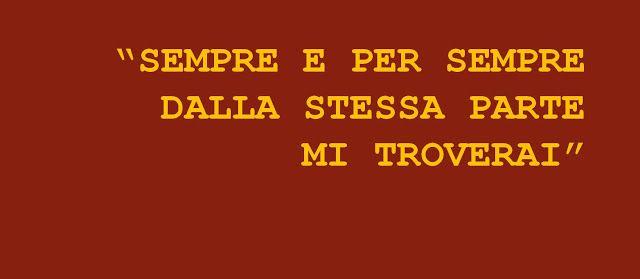 Le Cose Sono Come Sono: LA ROMA