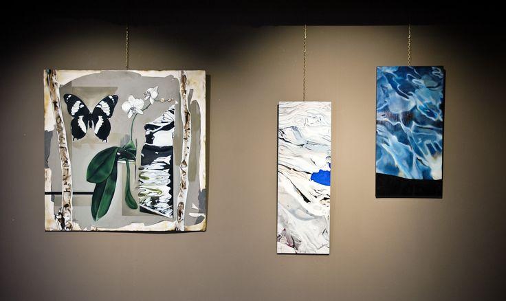 Valentina Aveni Labdeau  exhibition @ Spazio Caffelarte #caffelarte #exhibition #art #paintings