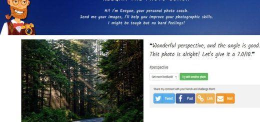 Keegan: utilidad web que puntúa nuestras fotos para ayudarnos a mejorar
