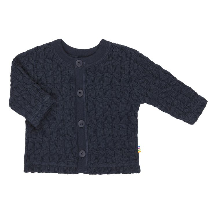 Navy blue cable knit 100% cotton cardigan by Joha divine for all kids. http://www.danskkids.com.au/collections/spring-summer-2015