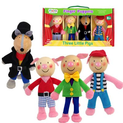 Three Little Pigs - Finger Puppets