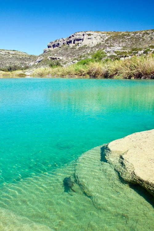 Devil's River near Del Rio, TX....5 day kayaking & camping trip summer 2013. Omg still can't believe this is in Texas