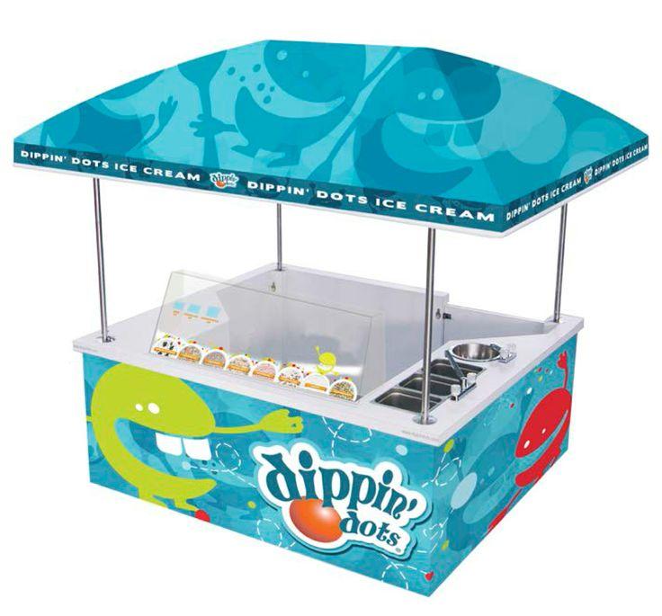 Dippin Dot KIOSK. Ψάξε να το βρεις στα Αllou Fun Park και οχι μονο!