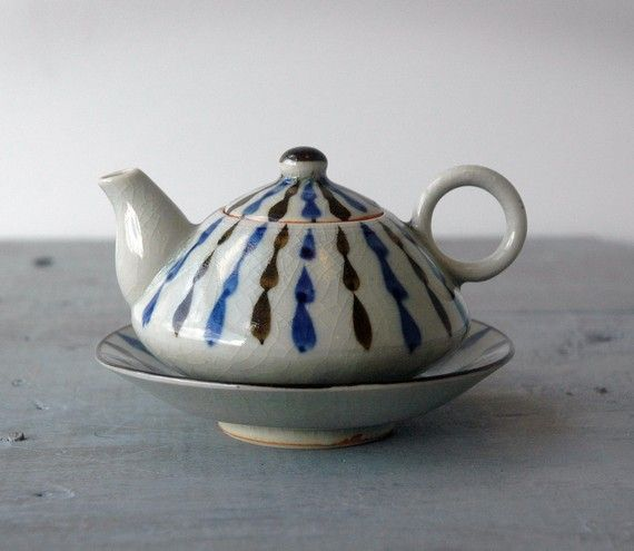 seller said this is a teapot, but I think it's for soy sauce.