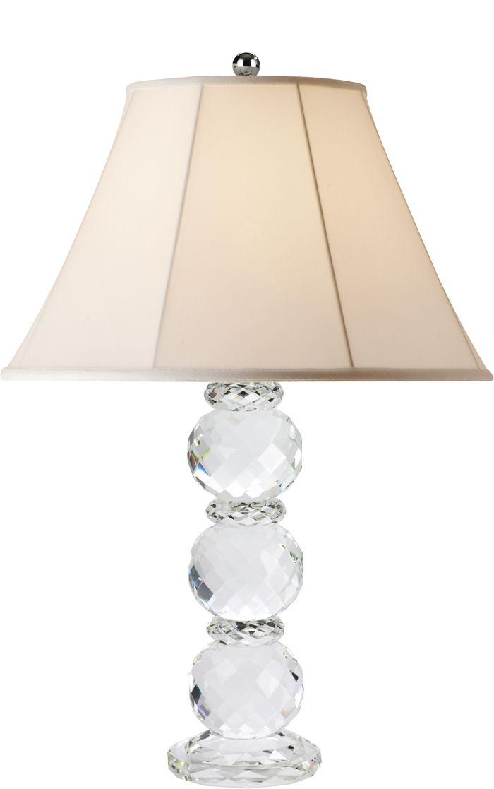 Ralph lauren daniela crystal lamp