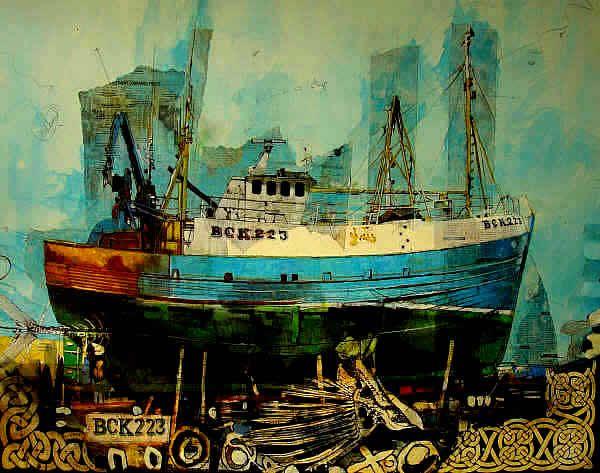 fishing boat Malcolm Cheape