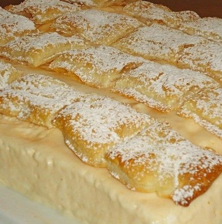Кралицата на всички десерти - крем пита от бабината тетрадка