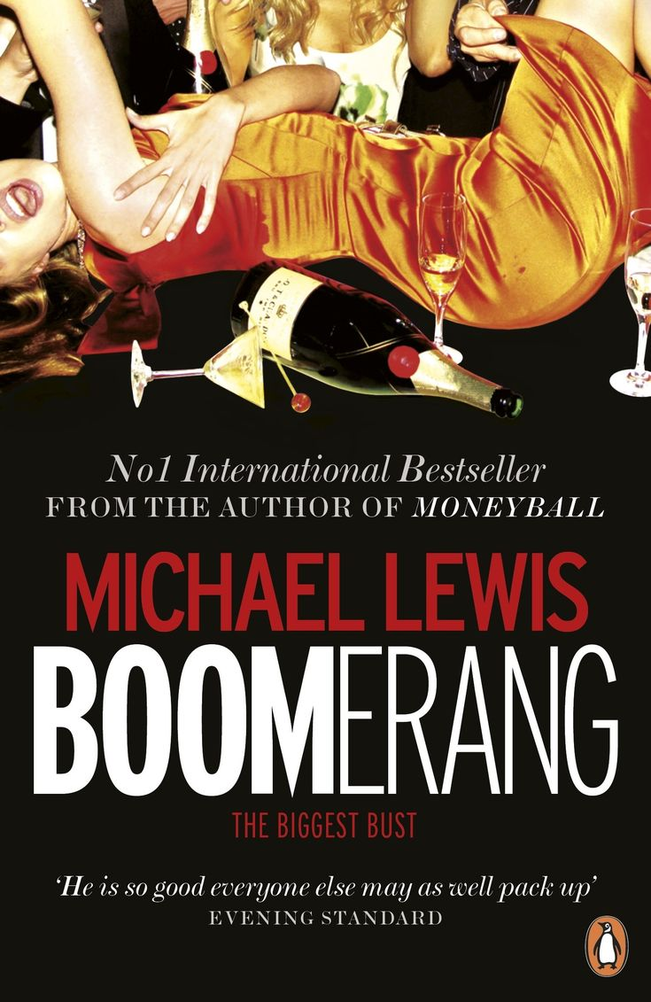Image result for michael lewis boomerang