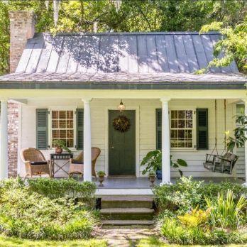 20+ Charming Small Cottage House Außen Ideen