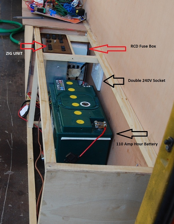 Image detail for -Electric Installation in Mercedes Sprinter Van Conversion