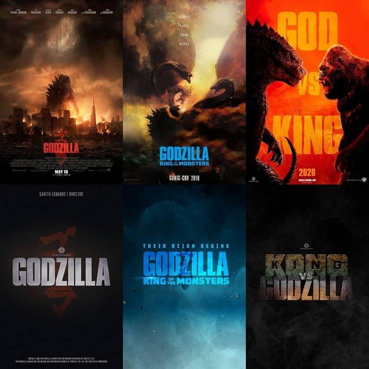 Pin De Kevin The Cutie En Godzilla Godzilla Carteles De Peliculas Juegos De Arte