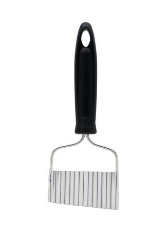 Kitchen Craft Crinkle Chip Cutter, Stainless Steel Head