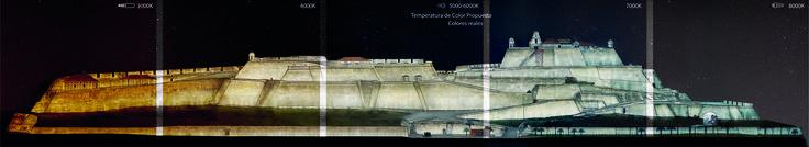 Galería de Este es el diseño de Colectivo720 + De Arquitectura y Paisaje que iluminará castillo en Cartagena - 27
