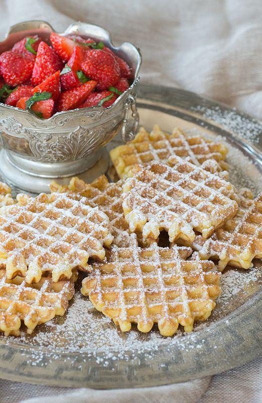 Wafeltjes van opa Jan met Haspengouwse aardbeien