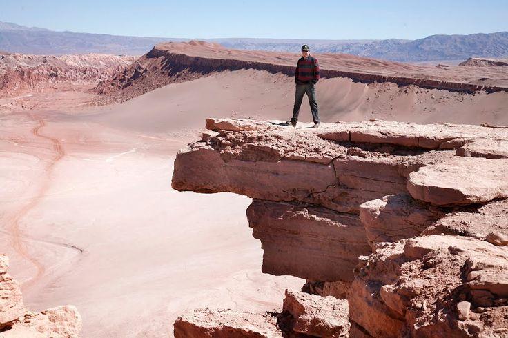 La Piedra del Coyote, Valle de la Luna , Chile