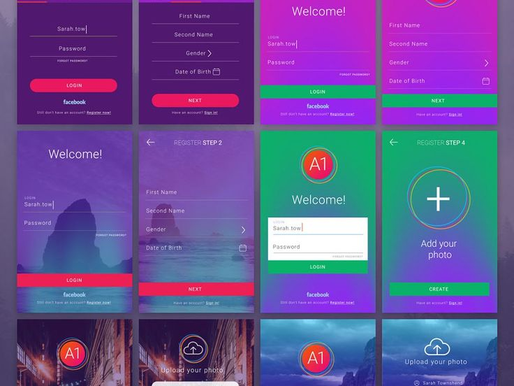 Ui Design Ideas find this pin and more on flat ui design ideas Free App Ui Kit4