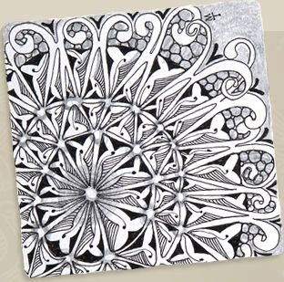 """I'd so much love to devote more time to learning to draw """"zentangle"""" style. I get so enamored with fractals ^.^"""