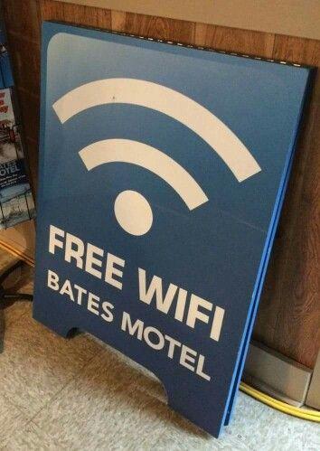 bates motel wifi