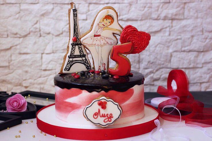 Париж и балет❣✨...красно-чёрная эстетика с пылким сердцем ❤