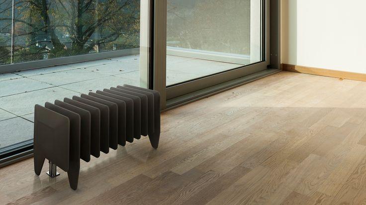 Terma Pillou die-cast radiator #design #interior #radiator #interiordesign #architecture #form #style #diecast #wzornictwo #projektowanie #grzejnik #grzejnikodlewany #architektura