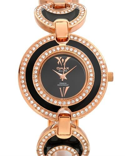 OMAX Brand New Watch With Genuine Crystals  - Certificate Available.